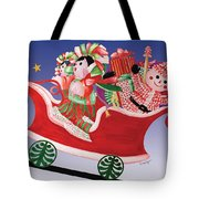 Holiday Twin Delivery Tote Bag
