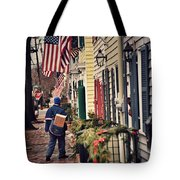 Holiday Wishes Iv Tote Bag