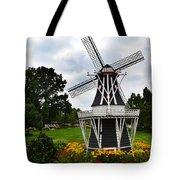 Holland Grey Windmill  Tote Bag