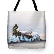 Hollow Rock Winter Tote Bag