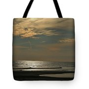 Holly Beach Sunset Tote Bag