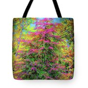Holly Jolly Tree Tote Bag