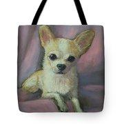 Holly The Chihuahua Tote Bag