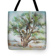 Holly Tree Tote Bag