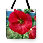 Hollyhock Hill Tote Bag