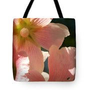 Hollyhocks 5 2017 Tote Bag