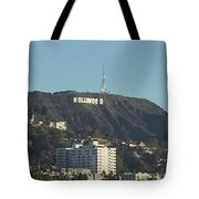 Hollyweed Sign Tote Bag