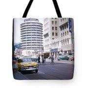 Hollywood And Vine California 1956 Tote Bag