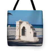 Hollywood Beach Wall In Color Tote Bag