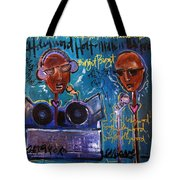 Hollywood Holt Plays Monolith Tote Bag