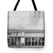 Hollywood Theater Marquee Tote Bag by Mike Evangelist