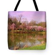 Holmdel Park In Spring Tote Bag