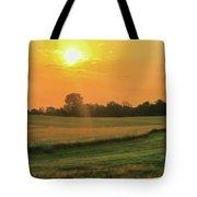 Holmes County Sunrise Tote Bag