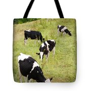Holstein Cattle Tote Bag