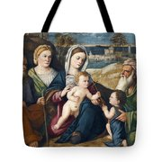 Holy Conversation Tote Bag