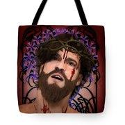 Holy Face Of Ecce Homo Tote Bag