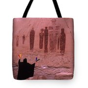 Holy Ghost Petroglyph Into The Mystic Tote Bag