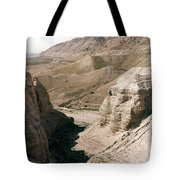 Holy Land: Qumran Caves Tote Bag