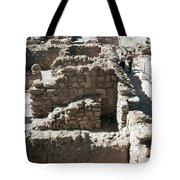 Holy Land: Qumran Ruins Tote Bag