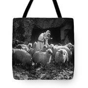 Holy Land: Shepherd, C1910 Tote Bag