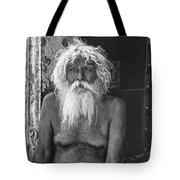 Holy Man 2 Bw Tote Bag