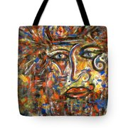 Holy Man Tote Bag