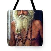 Holy Man Tote Bag by Steve Harrington