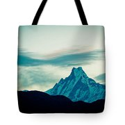 Holy Mount Fish Tail Machhapuchare 6998 M Tote Bag