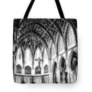Holy Name Cathedral Chicago Bw 03 Tote Bag