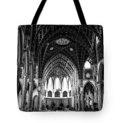 Holy Name Cathedral Chicago Bw 04 Tote Bag