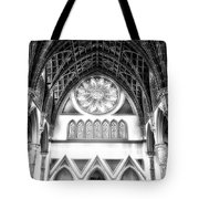 Holy Name Cathedral Chicago Bw 06 Tote Bag