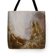 Holy Spirit Comes Tote Bag
