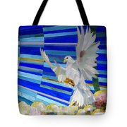 Holy Spirit Dove Tote Bag