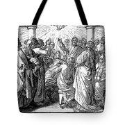 Holy Spirit Visiting Tote Bag