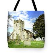 Holy Trinity Church - Ashford-in-the-water Tote Bag
