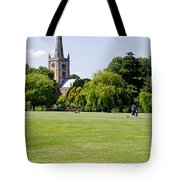 Holy Trinity Church At Stratford Upon Avon Tote Bag