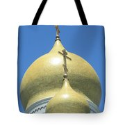 Holy Virgin Cathedral In San Francisco Tote Bag