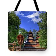 Holy Wood Tote Bag