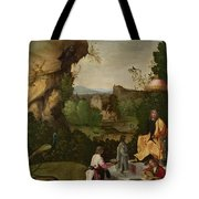 Homage To A Poet Tote Bag