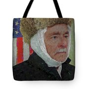 Homage To Van Gogh Selfie Tote Bag