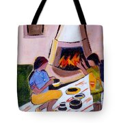 Home And Hearth In Taos Tote Bag