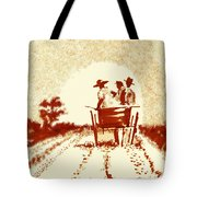 Home Before Dark Tote Bag
