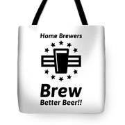 Home Brew Logo Range Tote Bag