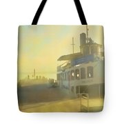 Home By Sunset Tote Bag