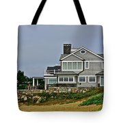 Home By The Shore Tote Bag