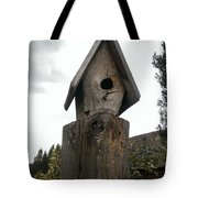 Home For The Birds Tote Bag