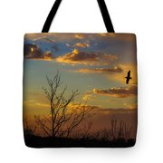 Home For The Night Tote Bag