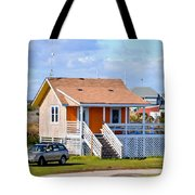 Home In Nags Head 3 Tote Bag