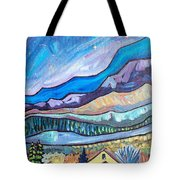 Home In The Hills Tote Bag
