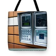 Home Intercom System Tote Bag